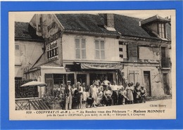 """77 SEINE ET MARNE - COUPVRAY """"Au Rendez-vous Des Pêcheurs"""" Maison Monniot (voir Descriptif) - France"""