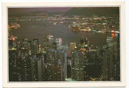 V3436 La Baia Di Hong Kong - Cartolina Con Legenda Descrittiva / Non Viaggiata - Asia
