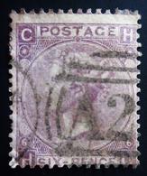 1862 Grande Bretagne Yt 22. Mi 20 . Queen Victoria Belle Oblitération A2 - Oblitérés