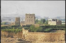 YEMEN - VIGNETI A SAADA - VIAGGIATA FRANCOBOLLO ASPORTATO - Yemen