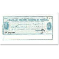 Billet, Italie, 200 Lire, 1976, 1976-07-26, NEUF - [10] Chèques
