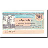 Billet, Italie, 200 Lire, 1976, 1976-12-22, NEUF - [10] Chèques