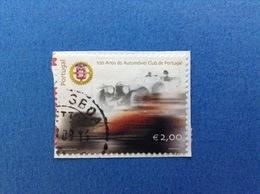 2003 PORTOGALLO PORTUGAL CLUB AUTOMOVEL € 2,00 FRANCOBOLLO USATO STAMP USED - 1910 - ... Repubblica