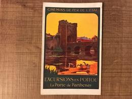 Excursions En Poitou La Porte De Parthenay - Chemins De Fer