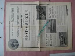 """PHOTO SIECLE """" L'Appareil Sans Rival Au Monde"""" Doc. 4 Pages ( Vers 1900) - Appareils Photo"""