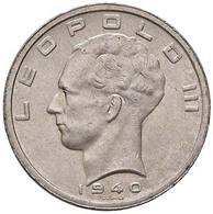 BELGIO  Baldovino I 1951-1993 50 Franchi 1940 Km#122 D.003 - 1951-1993: Baldovino I