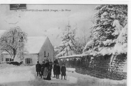 La Chapelle Aux Bois  En Hiver - France