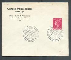 40c. Obl. Dc CONGRES BENELUX Des TRANSPORTS Et Du TOURISME à DIEKIRCH Sur Lettre Du 8-VI-1951 (C.P. Pétange) - 13507 - Luxemburg