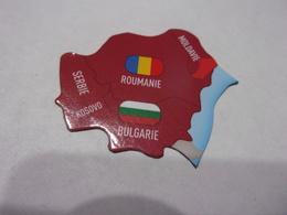 Magnet Savane Brossard Roumanie Bulgarie Moldavie Serbie Europe - Tourism