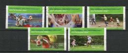 Allemagne Fédérale - Germany - Deutschland 2003 Y&T N°2152 à 2156 - Michel N°2324 à 2328 (o) - Série Pour Le Sport - [7] République Fédérale