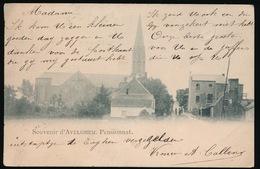 SOUVENIR D'AVELGEM  - PENSIONNAT  1900 - Avelgem