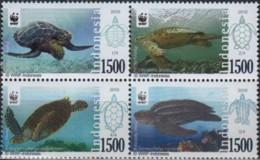 Indonesia 2010, Turtles (MNH, **) - W.W.F.