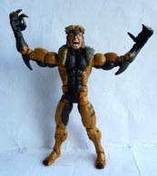 FIGURINE SABRETOOTH TOY BIZ INC 2004 MARVEL X-MEN 6 - 28 Points D'articulations - X-Men