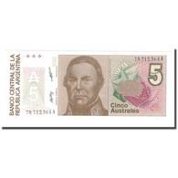 Billet, Argentine, 5 Australes, KM:324b, NEUF - Argentine