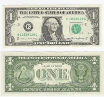 USA  1 Dollar 1985 New York Leicht Gebraucht - Billets De La Federal Reserve (1928-...)