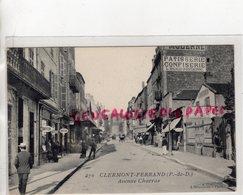 63- CLERMONT FERRAND- AVENUE CHARRAS -PATISSERIE CONFISERIE L. RIGAUD FONTBONNE- COIFFEUR LINGERIE - Clermont Ferrand