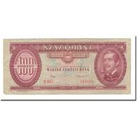 Billet, Hongrie, 100 Forint, 1984, 1984-10-30, KM:171g, B+ - Hongrie