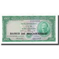 Billet, Mozambique, 100 Escudos, 1961, 1961-03-27, KM:117a, SPL - Mozambique