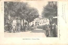 Italia - MISTRETTA, Corso Villa - 1904 - Messina