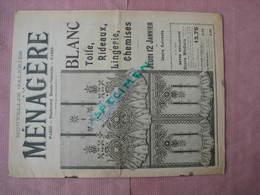 """Nouvelles Galeries """" A La Menagere """" 1905  4 Documents  Voir Photos Dont Les Lessiveuses . - Textile & Clothing"""