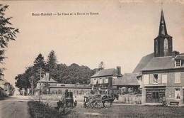 76 Bosc Bordel. La Place Et La Route De Rouen. Bouilleur De Cru - Autres Communes