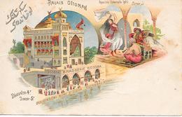 PARIS ( 75 )  -  Exposition Universelle 1900  - Plais Ottoman - Exhibitions