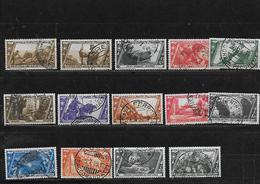 ITALIE 305à310/312à319 Oblitérés Rond - 1900-44 Victor Emmanuel III