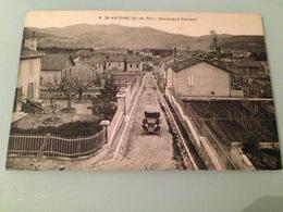 Ancienne Carte Postale Marseille Saint Antoine - Marseilles