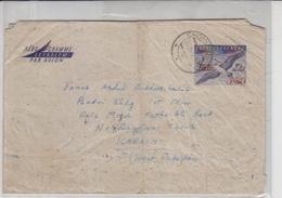 Czechoslovakia  Airmail Cover To Pakistan, Stamps,      (A-796) - Tsjechoslowakije