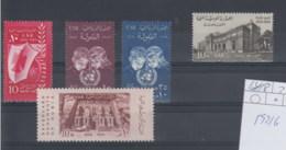 Ägypten (AK) Michel Cat.No.    Mnh/** 592/596 - Egypt