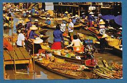 THAILAND FLOATING MARKET 1978 - Tailandia