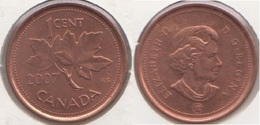 Canada 1 Cent 2007 KM#490 - Used - Canada
