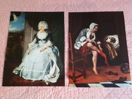 Affiches Peintures : La Reine Charlotte (STEEN) Et Toilette Du Matin (LAWRENCE) & - Non Classés