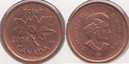 Canada 1 Cent 2008 KM#490 - Used - Canada