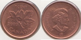 Canada 1 Cent 2009 KM#490 - Used - Canada