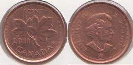 Canada 1 Cent 2011 KM#490 - Used - Canada