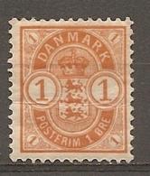 Yv. DK  N°  38     *  1o  Jaune-orange Cote  1 Euro BE R 2 Scans - Nuovi