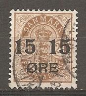 Yv. DK  N°  42   (o) 15o S 24o   Cote  6 Euro BE    2 Scans - 1864-04 (Christian IX)