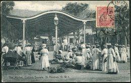 DWI Dansk Vestindien 1911 St. Thomas Danish West Indies Postcard PPC Antilles Danoises Dänisch-Westindien Virgin Islands - Denmark (West Indies)