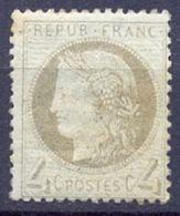 BON N°52 * Neuf 4c Gris Côte 150€ - 1871-1875 Cérès