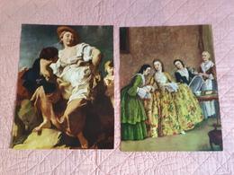 Affiches Repro De Peintures : La Matinée D'une Dame Vénitienne Et La Divineresse & - Non Classés