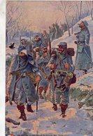En Guerre - Les Poilus Au Retour Des Tranches   -  CPA - Weltkrieg 1914-18