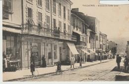 C. P. A. -  VALLAURIS - AVENUE DE GOLFE JUAN - JH MARTIN - Vence