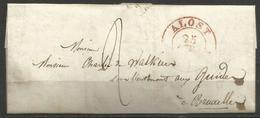(D131) LAC De ALOST Du 25/7/35 Vers Bruxelles - 1830-1849 (Belgique Indépendante)