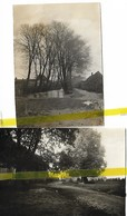 80 SOMME  HERVILLY Canton PERONNE  PHOTO ALLEMANDE   MILITARIA 1914/1918 WW1 WK1 - France