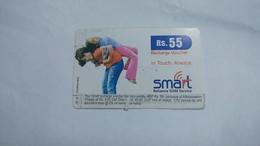 India-smart Card-(40b)-(rs.55)-(siliguri)-(1/6/2007)-(look Out Side)-used Card+1 Card Prepiad Free - India