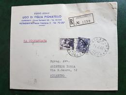 (12910) ITALIA STORIA POSTALE 1961 - 1946-.. République