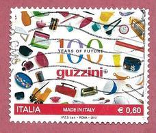 ITALIA REPUBBLICA USATO - 2012 - Made In Italy: Guzzini - € 0,60 - S. 3357 - 6. 1946-.. Republic