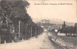 "0732 ""(TO) STRADALE DI FRANCIA E PANORAMA DI RIVOLI TORINESE"" ANIMATA. CART SPED 1918 - Italie"