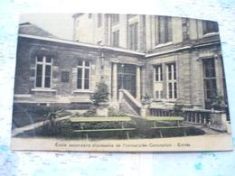 Ecole Secondaire Diocésaine De L'Immaculée-Conception Entrée - Arrondissement: 15